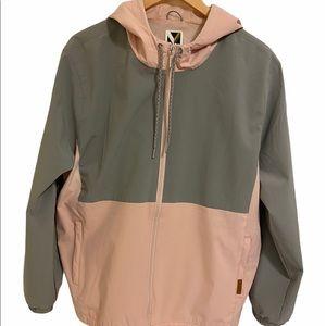 Voyager Womens Windwear Stretch Hooded Rain Jacket